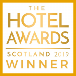 Signature won best Serviced Apartment at the Hotel Awards Scotland 2019